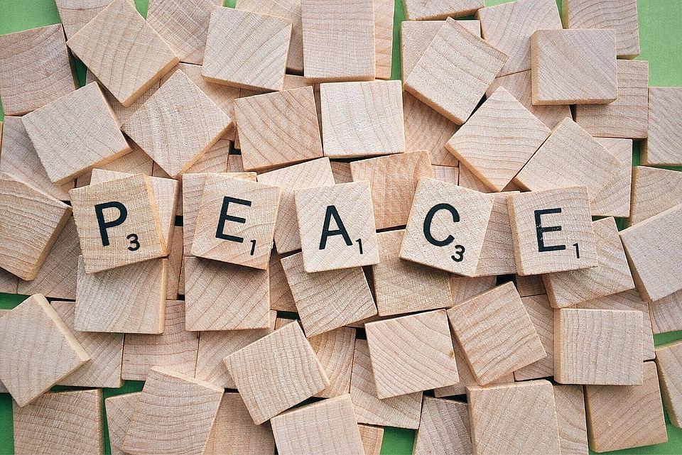 Remove vice through peace