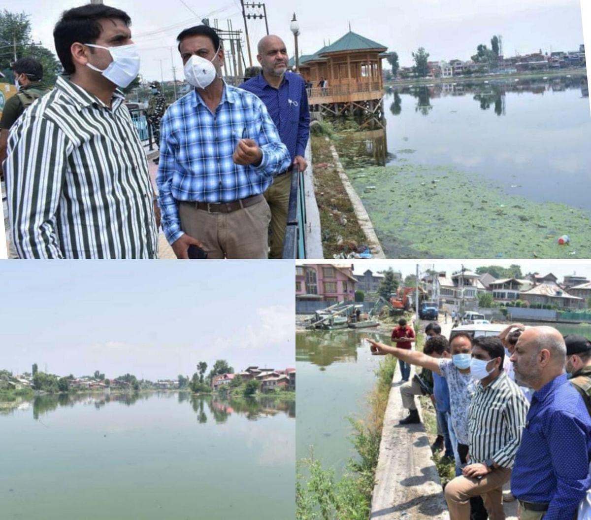 DDC Srinagar visits Gilsar, Babademb