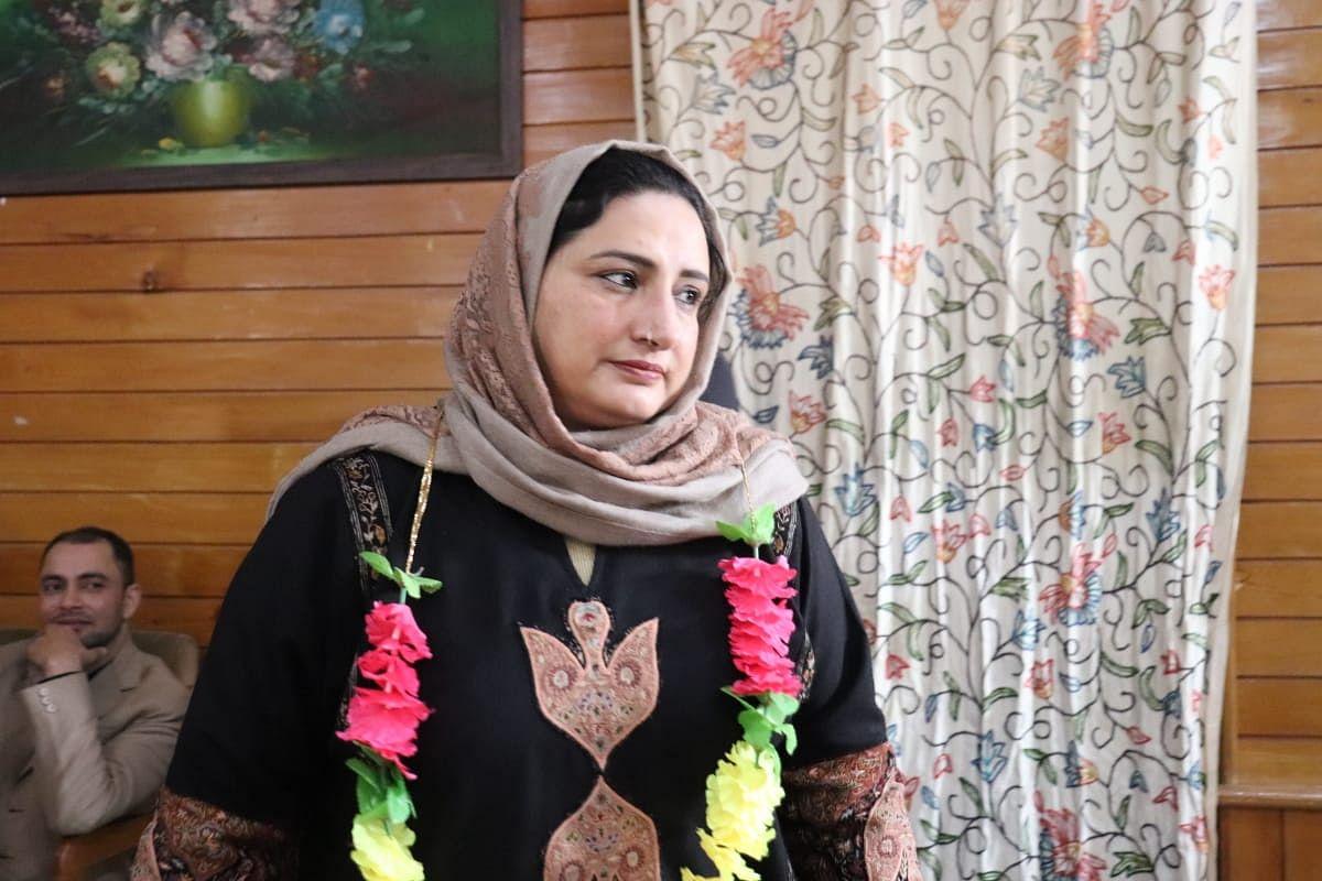 Masarat Kar elected president of Municipal Council Sopore