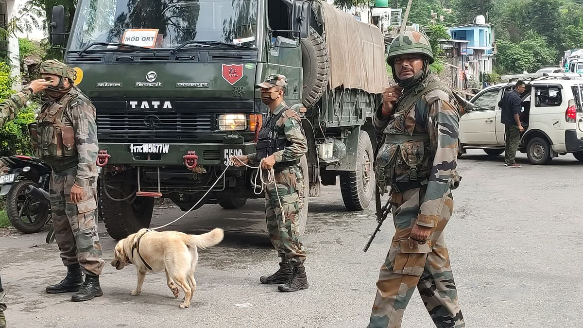 Massive search operation in Pulwama
