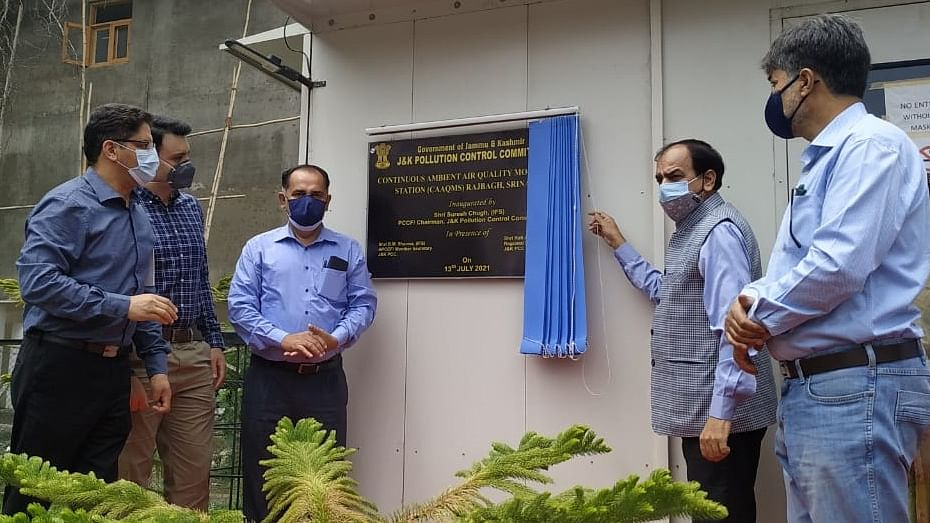 J&K gets its first ever real-time air-monitoring station in Srinagar
