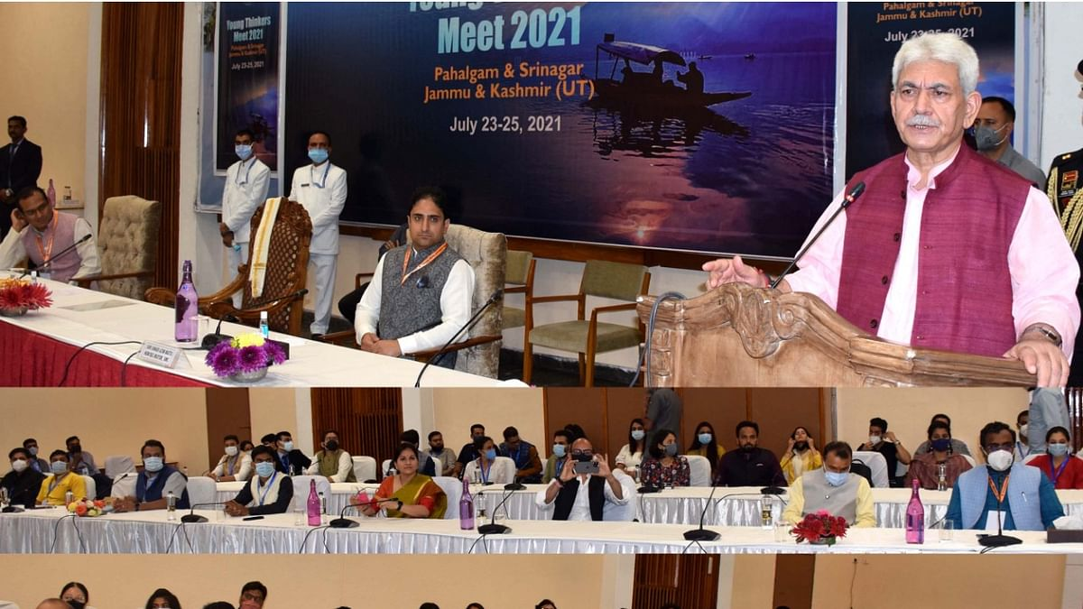 LG attends valedictory session at Young Thinkers Meet-2021