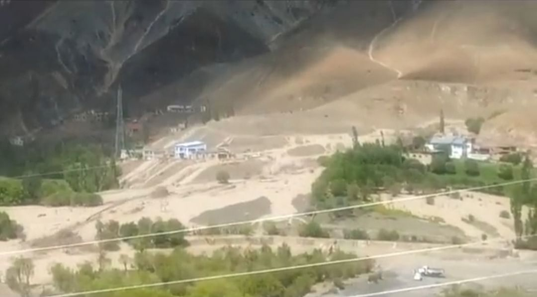 Several houses, mini hydro-power project damaged in Kargil flash floods