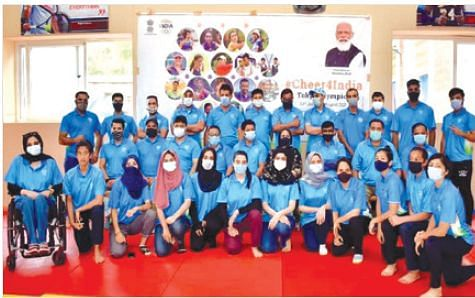 Sports Council distributes Olympic T-Shirts