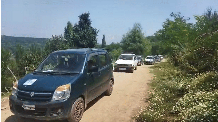 In a first, authorities conduct on-road driving tests in north Kashmir's Baramulla