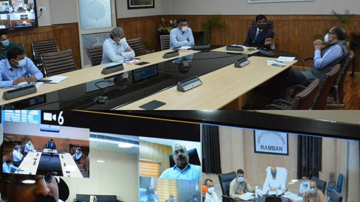 Chief Secy concerned over unsatisfactory progress of work on Srinagar-Jammu national highway