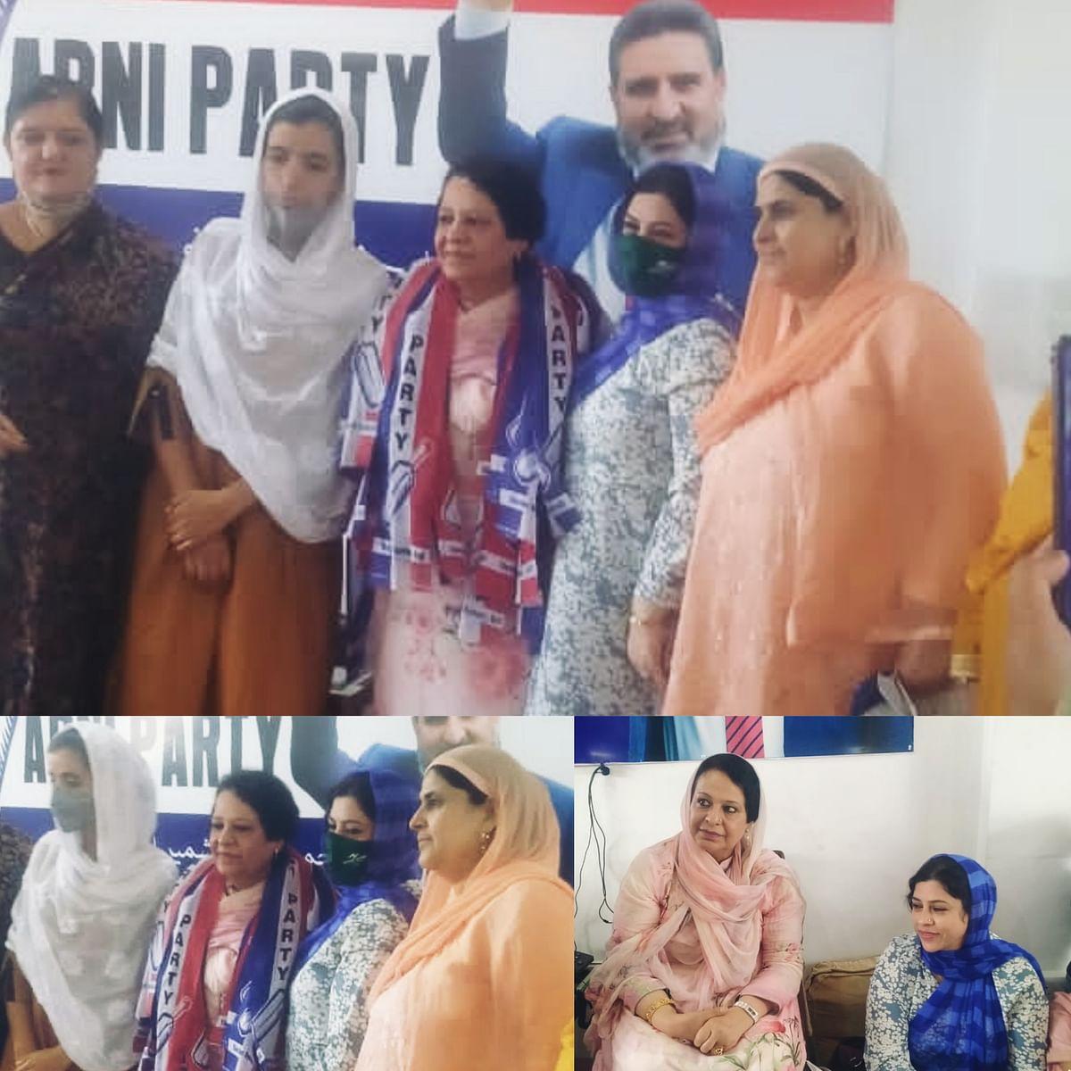 Apni Party organises Provincial Women's meeting