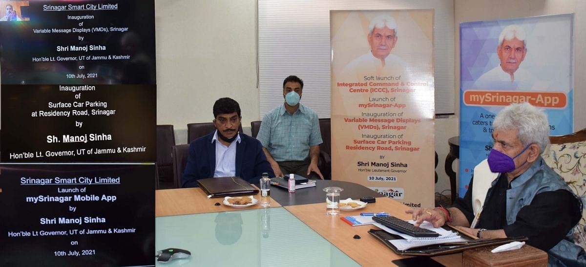 LG e-inaugurates multiple projects of Srinagar Smart City