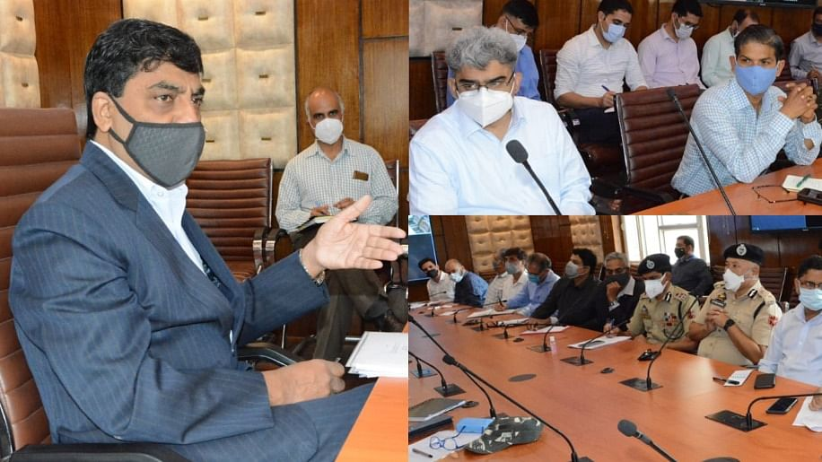 Chief Secretary reviews preparations for 75th Independence Day
