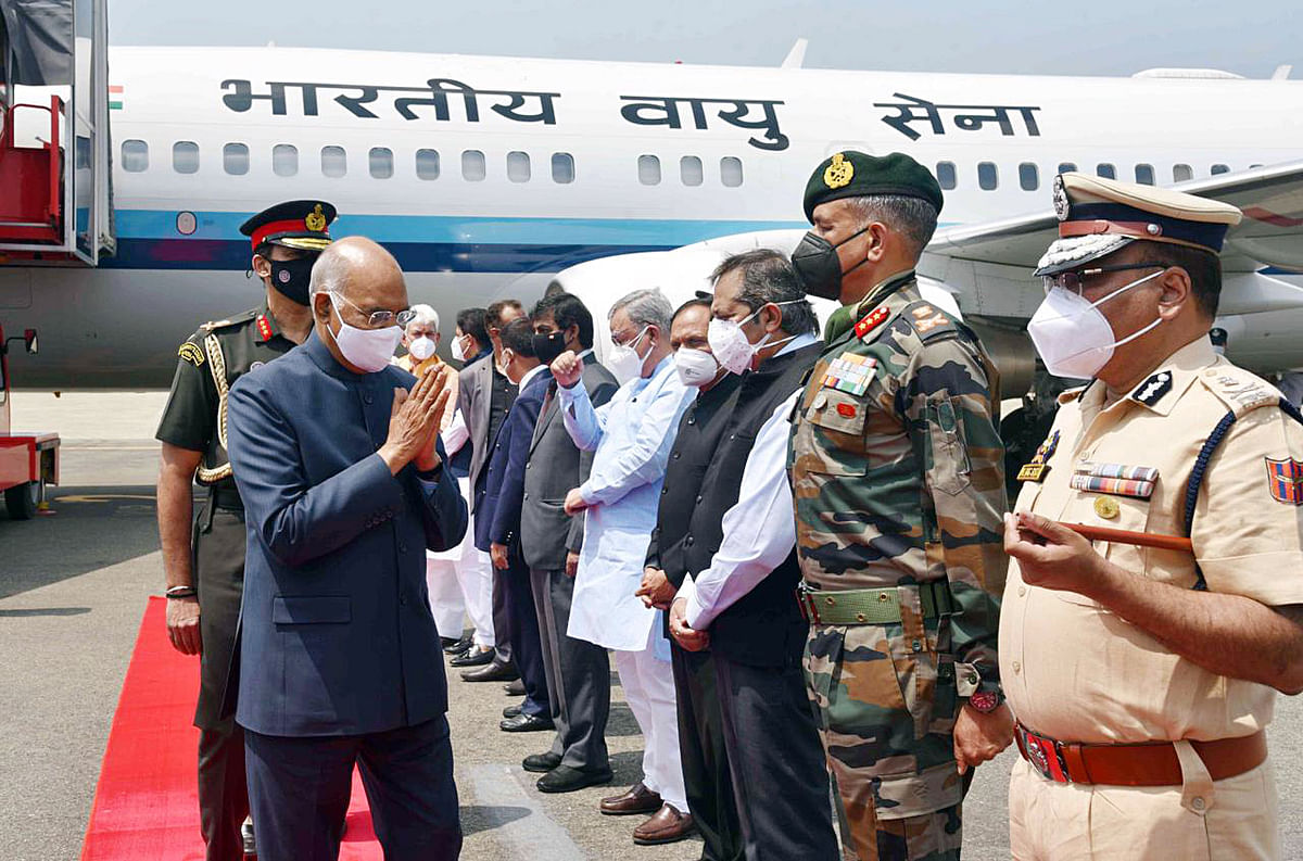 President Kovind's Kargil visit cancelled due to bad weather