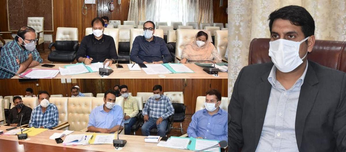 Srinagar District Congress Committee holds meet
