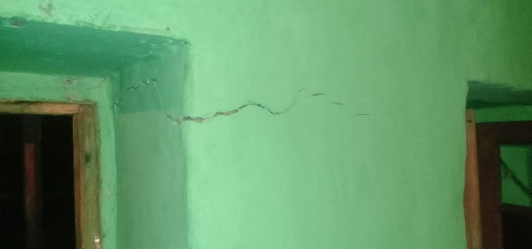 Blasting inside railway tunnel damages residential houses in J&K's Banihal