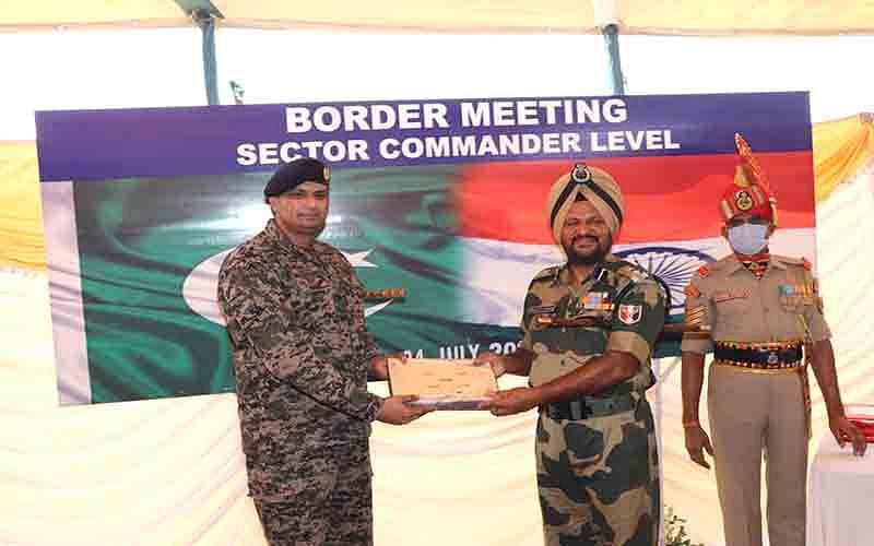 Sector Commander-level meeting held at Suchetgarh
