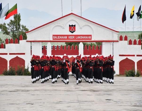 Passing out-cum-attestation parade held at JAKLI Regimental Centre Srinagar