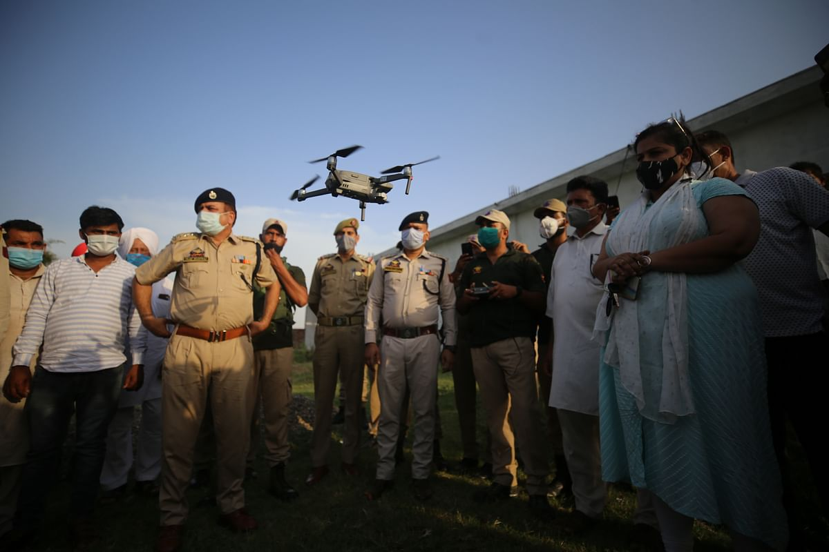 Suspected hexa-copter among two drones spotted in Jammu, Kathua