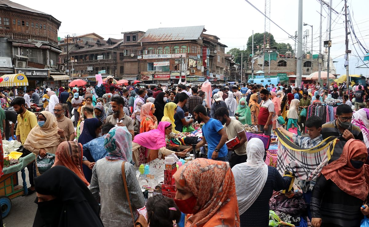 Weekend curfew lifted from all J&K districts as COVID-19 cases decline
