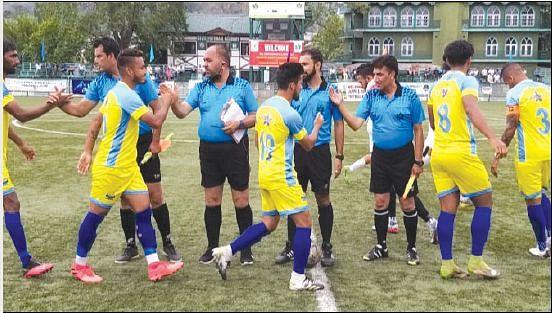 JKFA Professional League  Real Kashmir beat Downtown Heroes