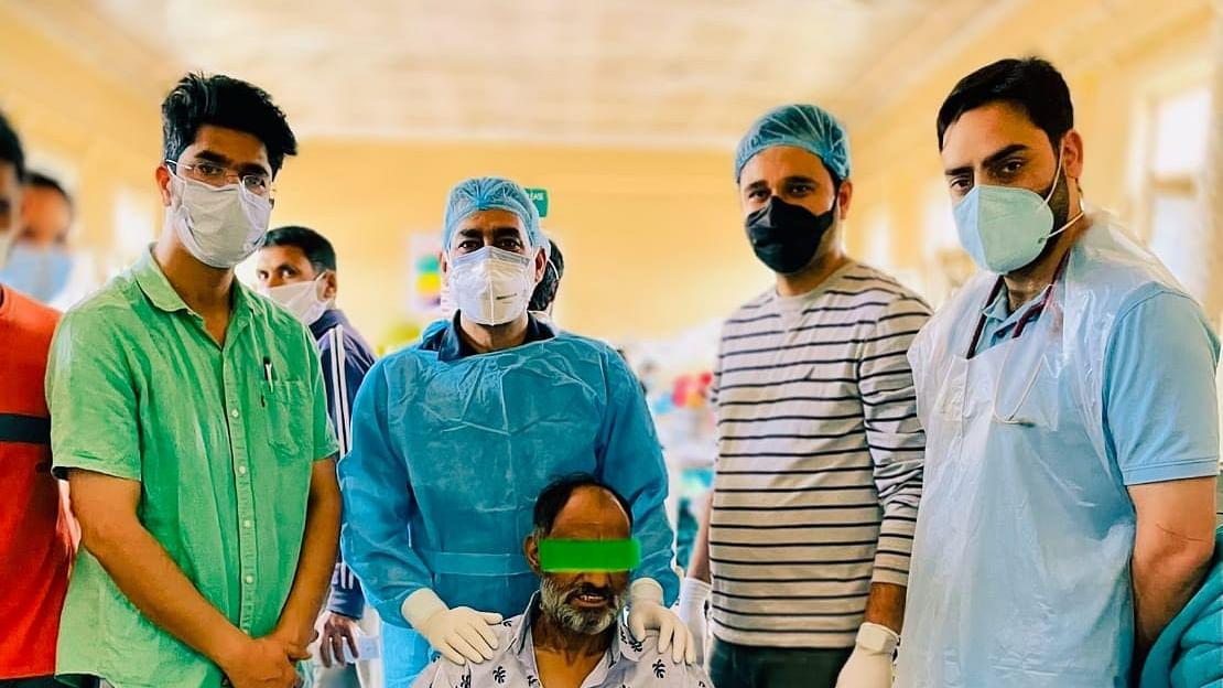 GMC Srinagar performs rare surgery to save cancer patient