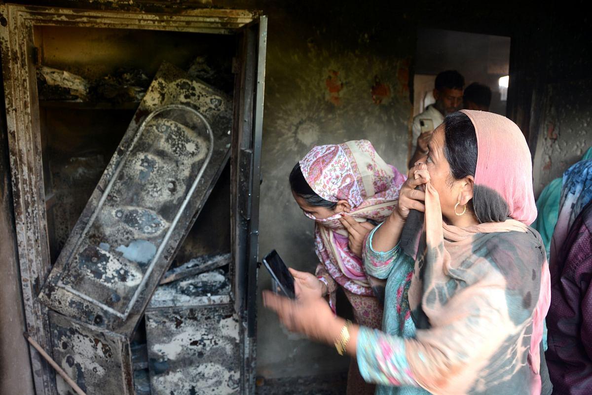 Police said both the slain were residents of Natipora Srinagar.