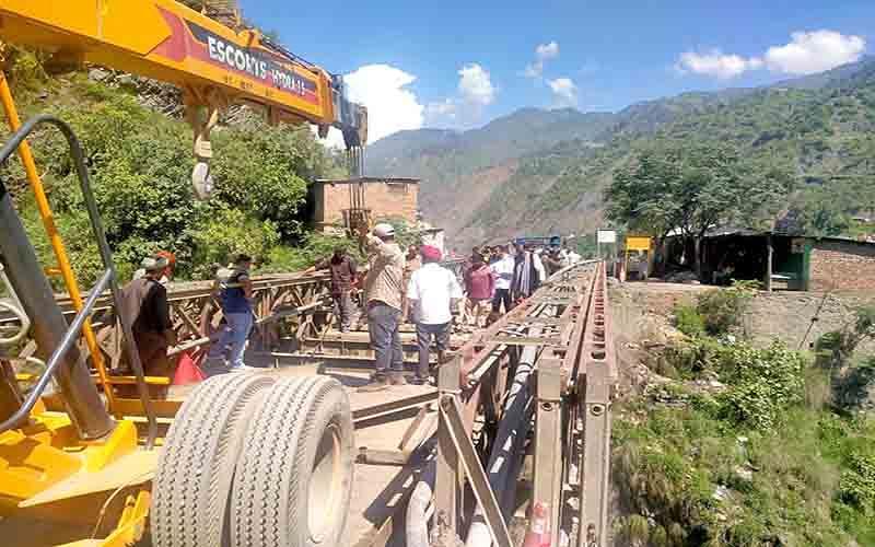 Portion of Sgr-Jmu highway closed for repairing bridge