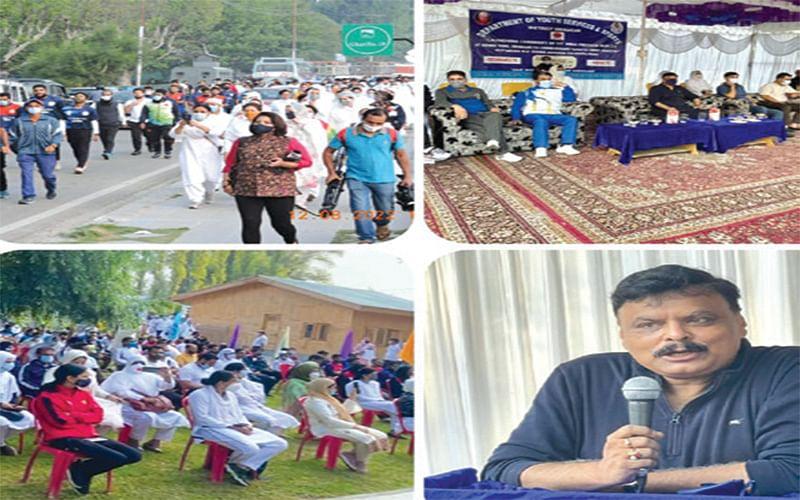 Alok Kumar launches 'Fit India Freedom Run 2.0' campaign at Srinagar