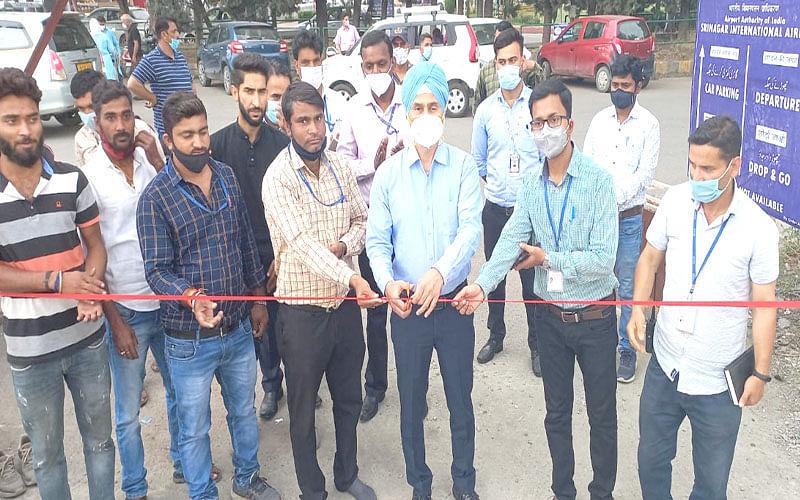 Srinagar International Airport gets semi-automated car parking