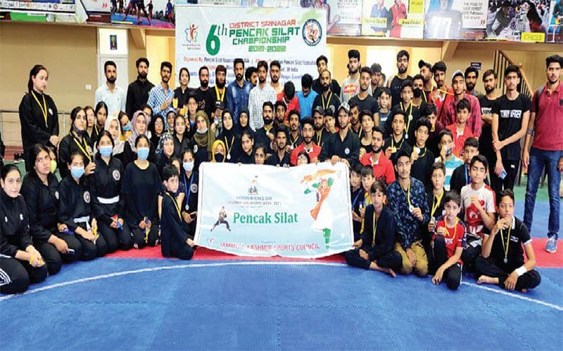 Srinagar PencakSilat championship concludes