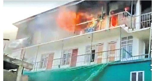 Dialysis centre gutted in Ganderbal