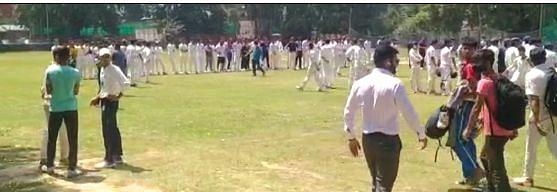 Hundreds turn up for JKCA U-19 trials in Srinagar