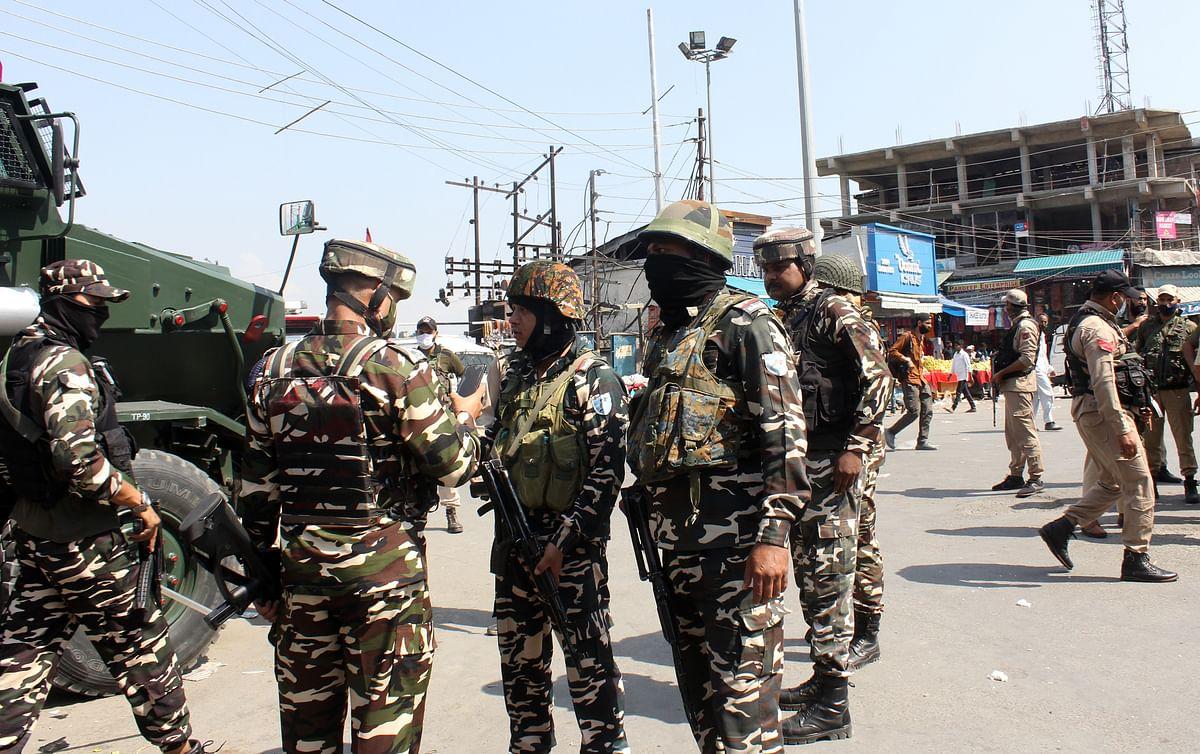 CRPF trooper injured in grenade attack in uptown Srinagar