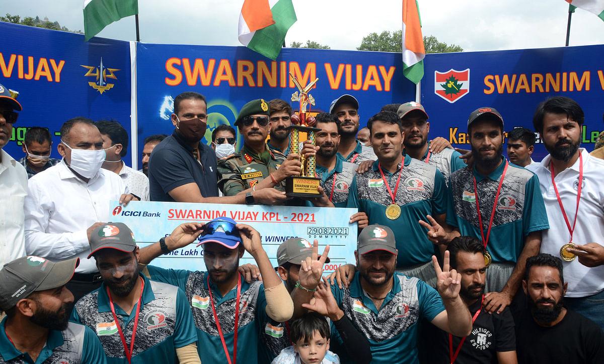 In pictures: Budgam wins Kashmir Premier League-2021