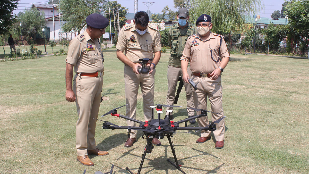 Areas where minority community members live under drone surveillance: DIG CRPF