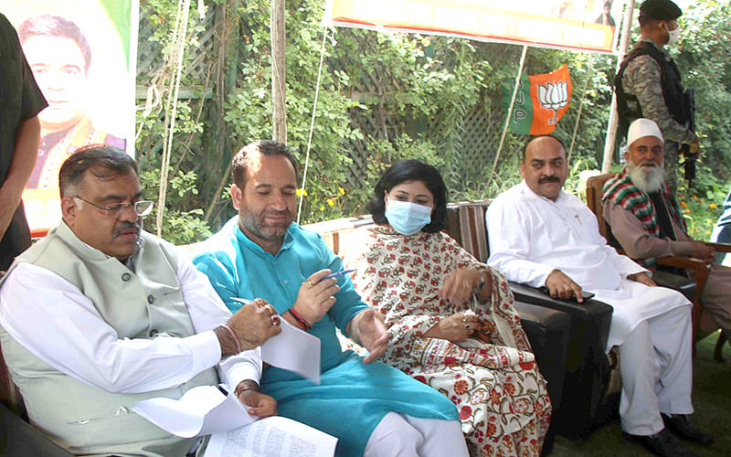BJP celebrates 2nd anniversary of Article 370 abrogation across J&K