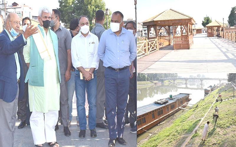 LG takes assessment of Jhelum beautification