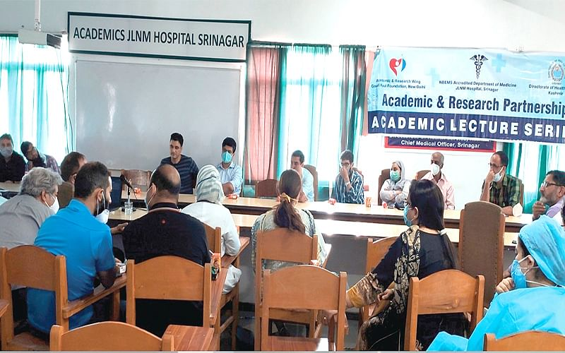 JLNM Hospital, GKF hold first CME post Covid-19