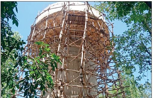 Construction on Handwara overhead tank incomplete for 7 years
