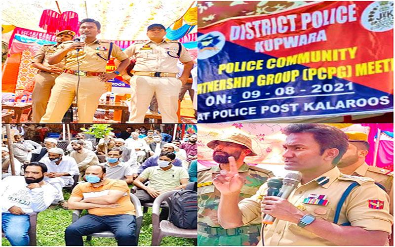 Police facilitates PCPG meeting in Kupwara