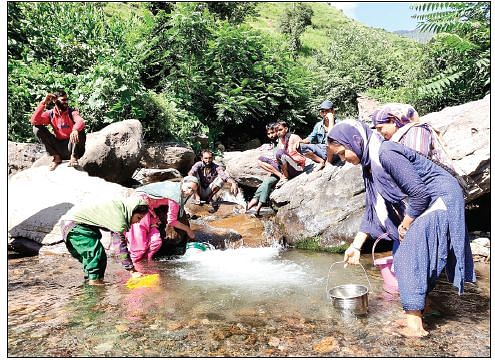 Bhaderwah's tribal hamlet shows how to keep water bodies clean