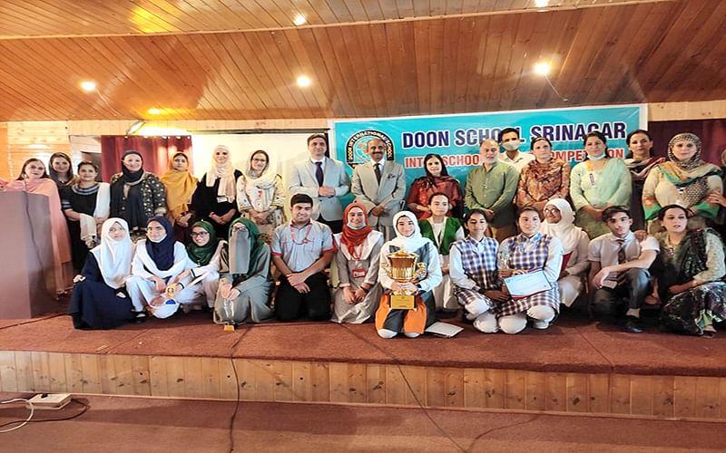 Doon School organizes inter-school debate