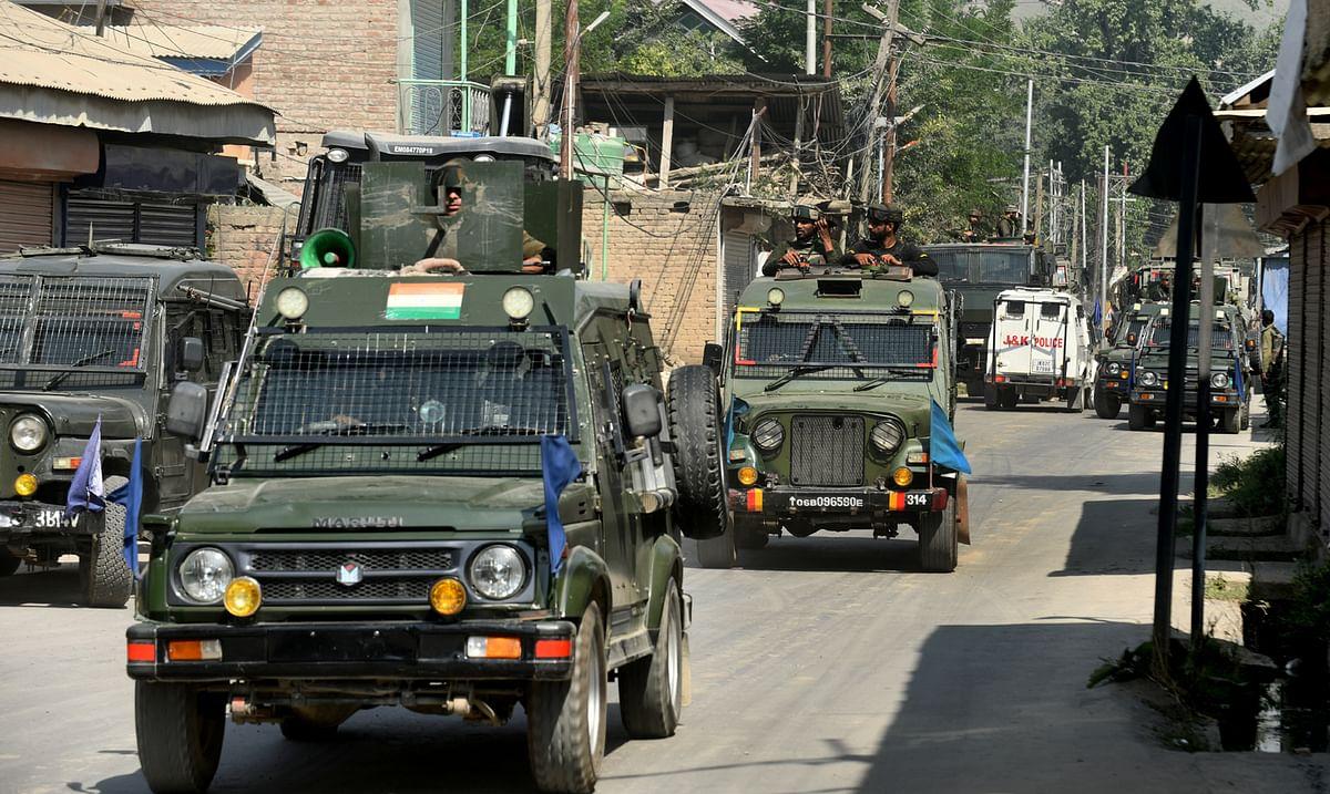 Three Jaish militants killed in Tral gunfight