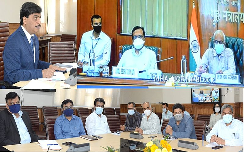 Union Home Secy chairs meeting of Chief Secretaries of UTs