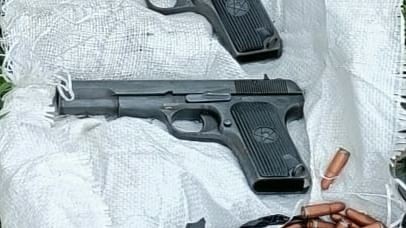 Two pistols, five magazines, 122 rounds recovered in J&K's Samba