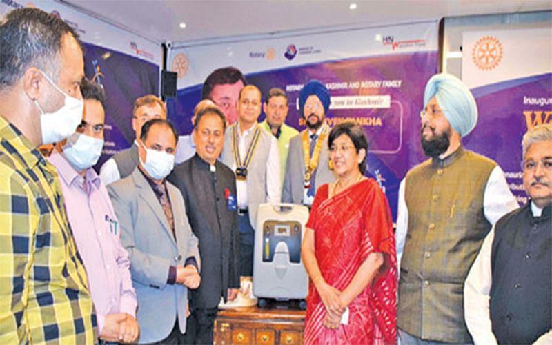 HN Wanchoo Trust, Rotary Club of Kashmir launch 'Welcome Zindagi' initiative in J&K