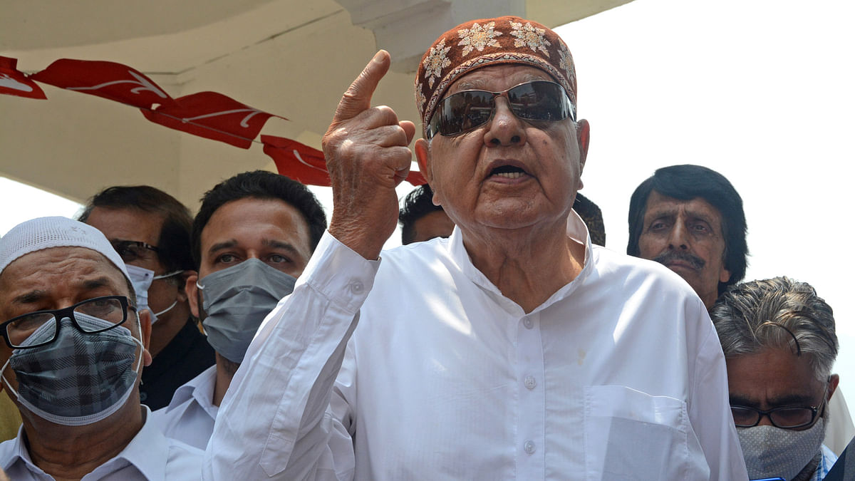 Every J&K party united over restoration of Article 370, 35-A: Farooq Abdullah