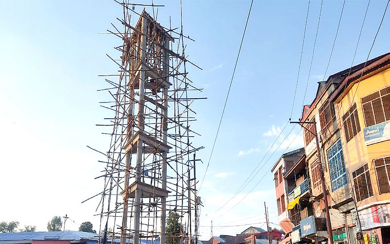 Shopian's new clock tower will tell more than just time