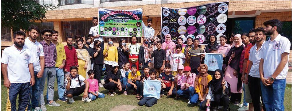 100 participants take part in  FSLD summer camp at Pahalgam