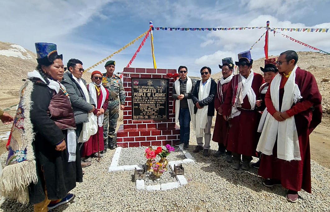 World's highest motorable road at 18,600 ft inaugurated in Ladakh