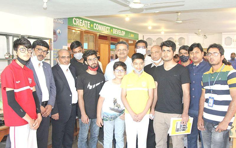 DPS Srinagar students to represent J&K in Mobile Robotics at Skill India