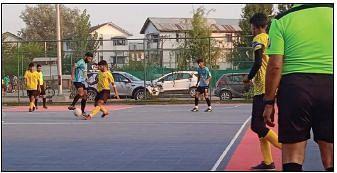 JKFA Futsal Championship Semi-final lineup decided