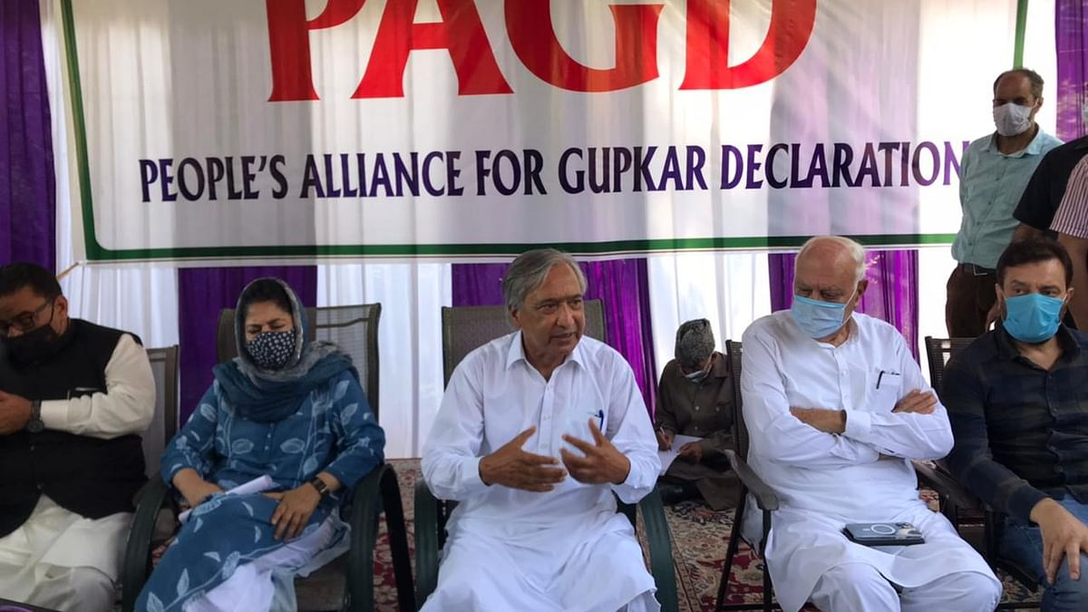 Ground situation belies BJP Govt's development claims: PAGD